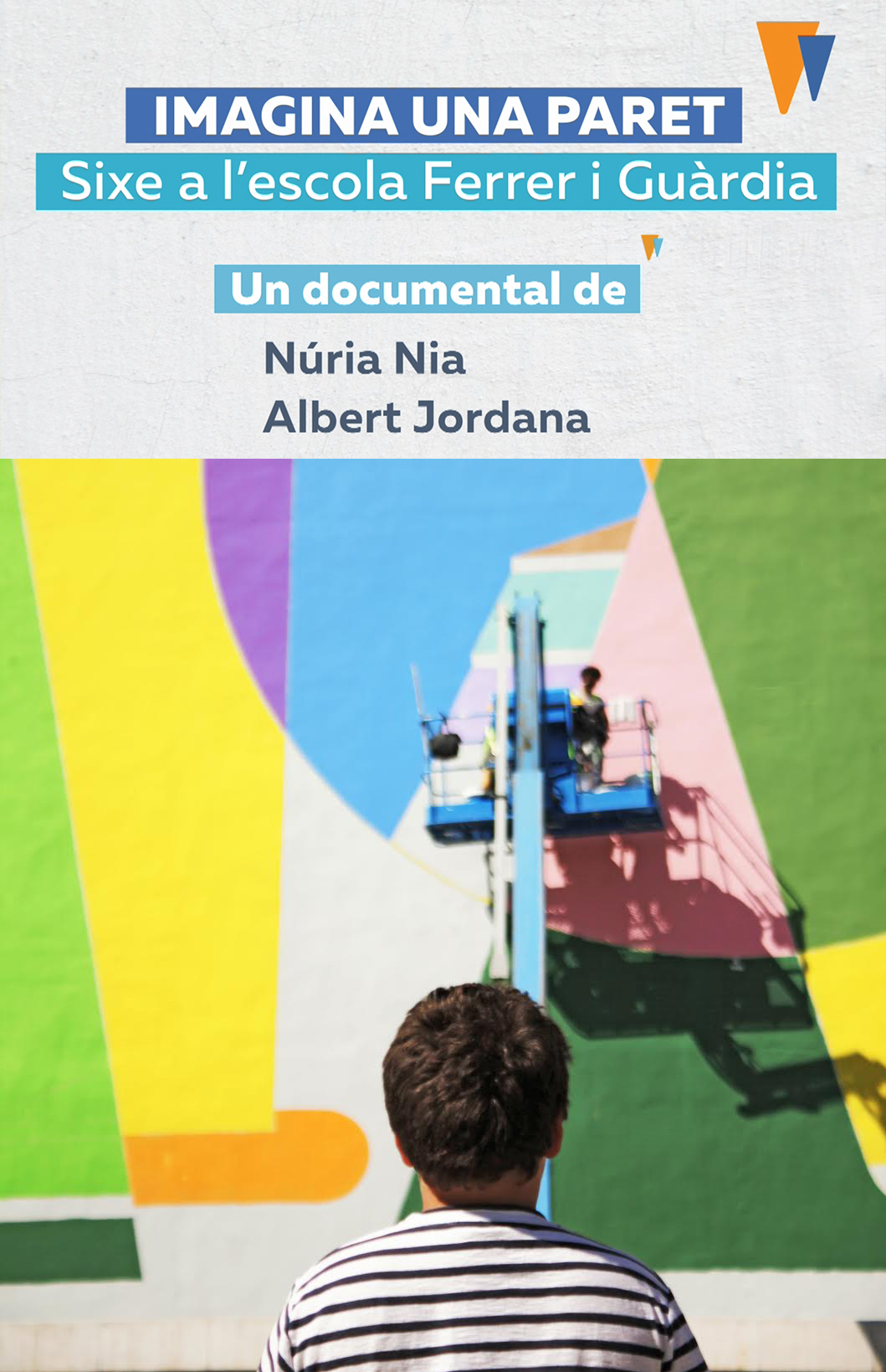 cartell imagina una paret documental sixe paredes núria nia